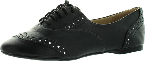 Restricted Womens Savoy Oxford Flats Shoes