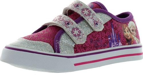 Disney Ch10883b Girls Frozen Elsa And Anna Sneakers
