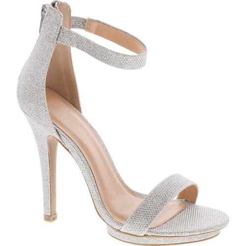 Static Footwear Womens Open Toe Ankle Strap High Stiletto Heel Platform Pump Sandal