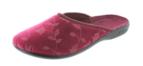 Sc Home Collection 102 Womens Closed Toe Flower Design Slippers