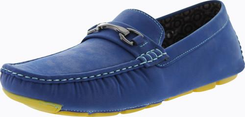J's Awake Mens Antony-16 Slip On Loafers Moccasins