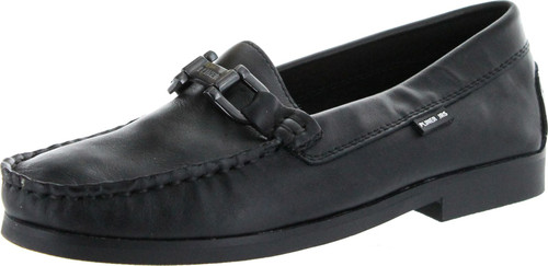 Donald Pliner Boys Maximo Slip On Loafers Moccasins With Chain