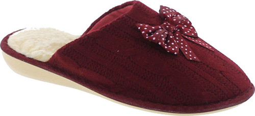 Sc Home Collection Womens Knitted Made In Europe Slippers