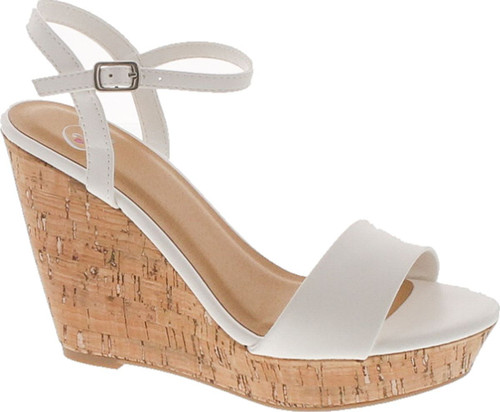 Delicious Women's Shoes Fantasy Open Toe Platform Wedge Sandal