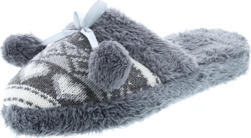 Static Footwear Womens Slip On Fashion Warm House Slippers