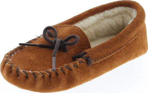 Minnetonka Girls Fashion Slip On Slippers
