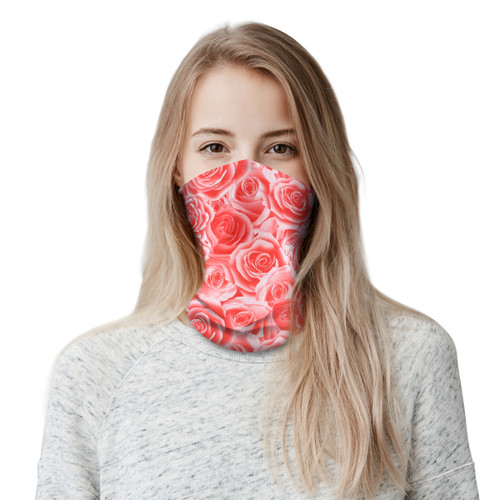 Adult Neck Gaiter Face Scarf/Neck Cover/Face Cover For Sun Dust Cycling Hiking Sports