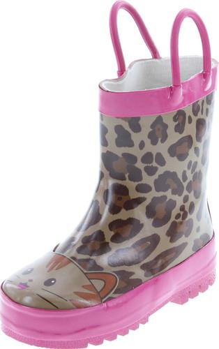 Static Footwear Kids Fashion Print Rain Boots