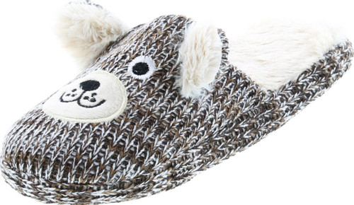 Sc Home Collection Womens Knit Slip On Fashion House Slippers