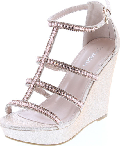 Top Moda Jessie-36 Women's Wedge Sandal