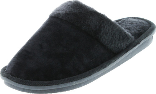 Sc Home Collection Womens Velour Slide Fashion House Slippers