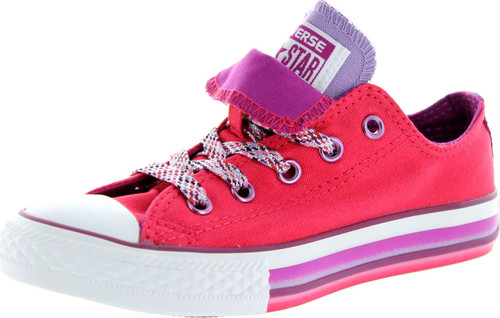 Converse Girls Ct Double Tongue Oxford Fashion Sneakers