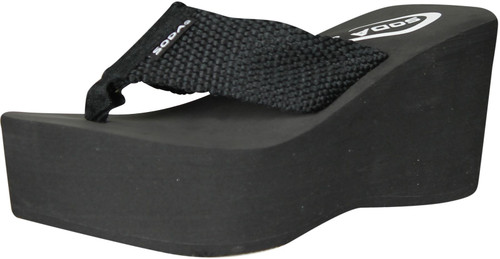 Soda Womens Oxley-S Flip Flop Sandals