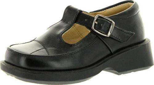 Angels Girls 55548B T Strap Casual Flats Shoes