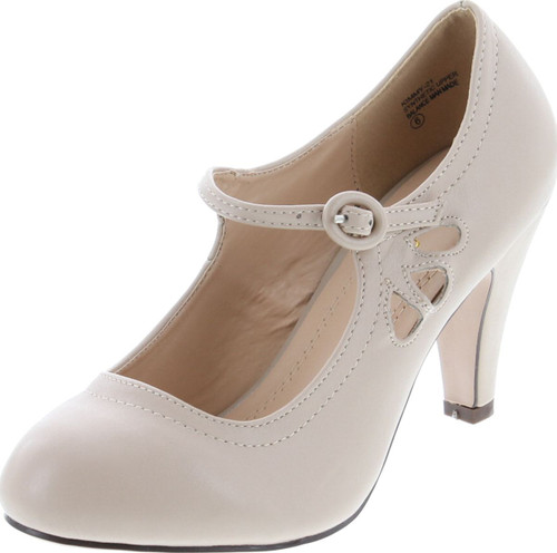 Chase & Chloe Womens Kimmy-21 Pumps Shoes