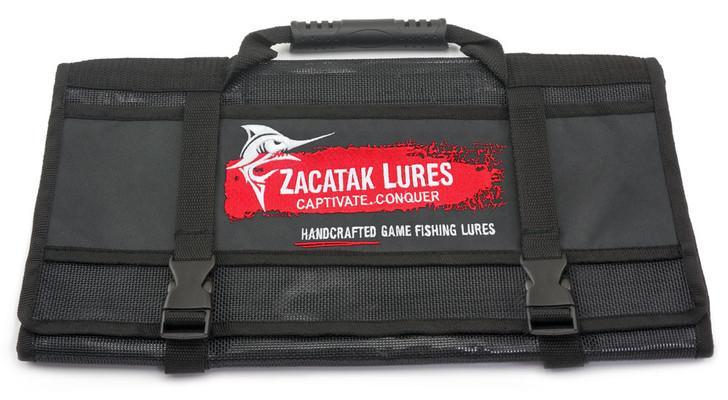 Game Fishing Lure Roll Bag Pocket - Zacatak Lures