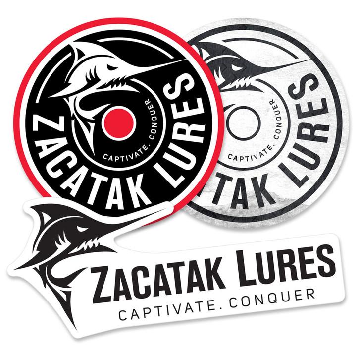 Zacatak Lures Sticker Decal Pack