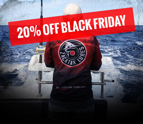 Zacatak Lure Merchandise - 20% Black Friday