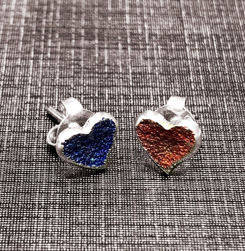Sweet Heart Earrings (Blue/Red) (1144300XPP)