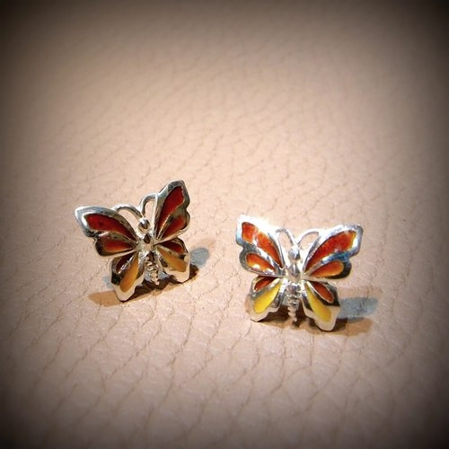 Mystic Butterfly Earrings (1141355EPU)