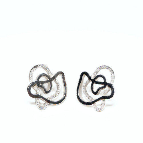 Silver Xispa Earrings (1144051MP)