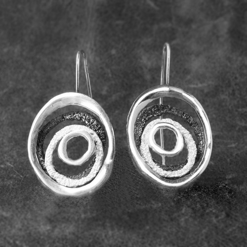 Aloha Silver Earrings (1143845XMG)