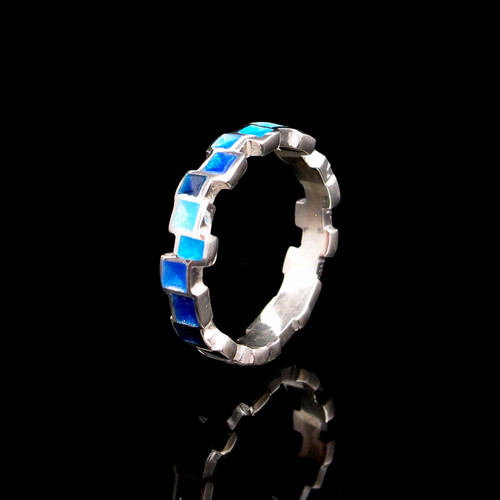 Gaudi Zip Ring (1181734EPU)