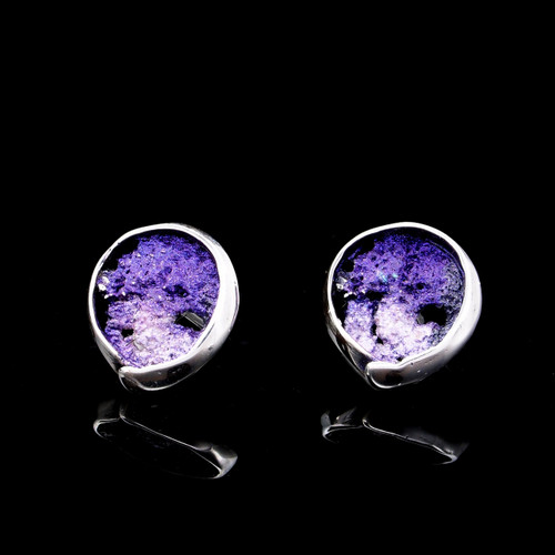 Violet Volcanic Earrings (1143171XPP)