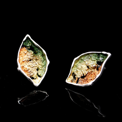 Volcanic Leaves Earrings (1143390XXP)