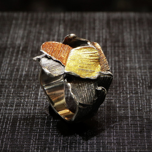 Copper Splash Fragments Ring (1182169XPU)