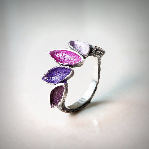 Mystic Violet Crown Ring (1182488XPU)