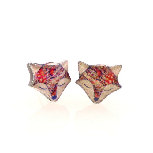 Fox Earrings (PII3-Fox)