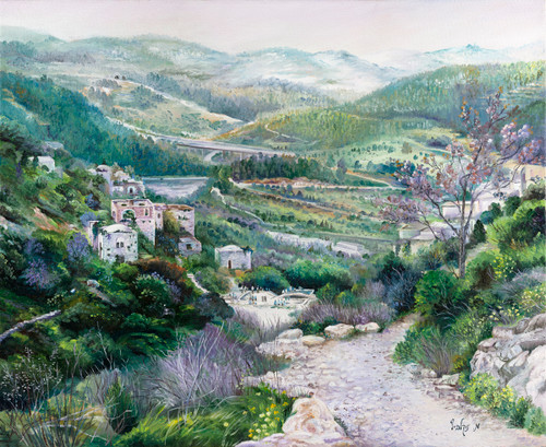 Lifta Giclee by Menucha Yankelevitch
