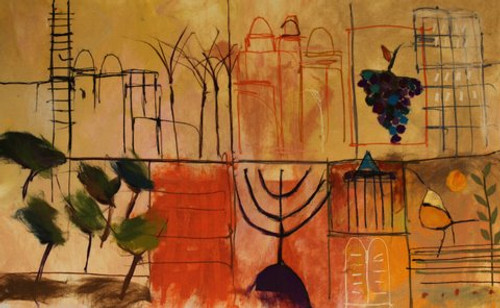 Jerusalem Images Soft Art by Johanan Herson