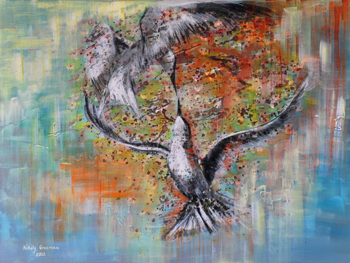 Freedom Giclee by Nataly Grosman