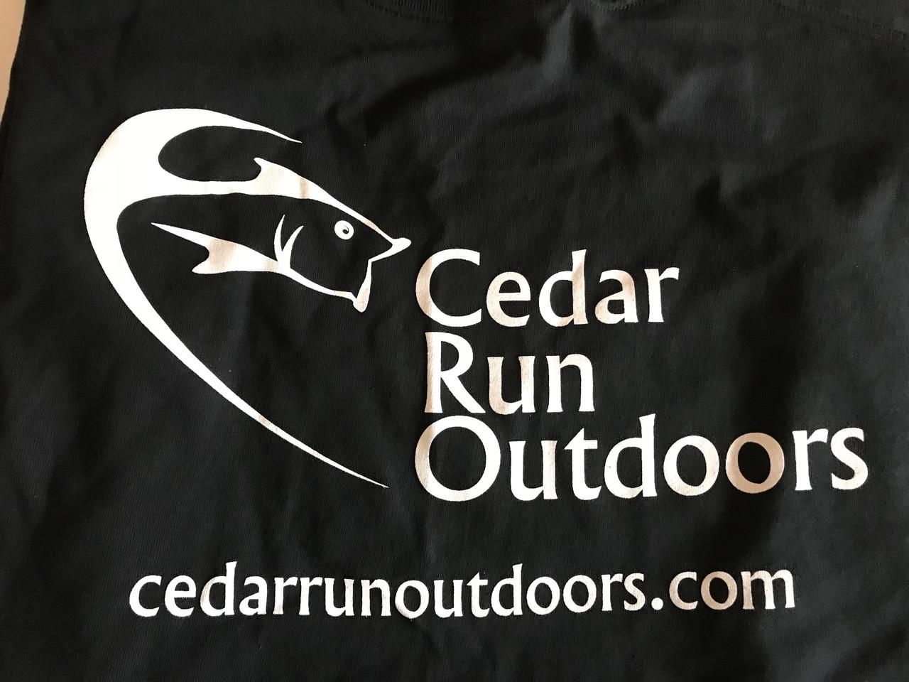 Cedar Run Outdoors short sleeve logo T-shirt