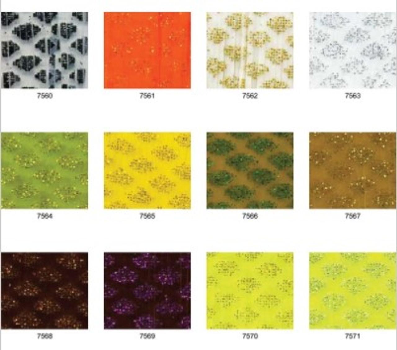 Do-it Silicone Tabs - Glitter Scale 10pk