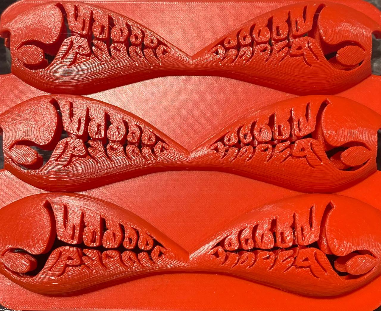 Wiggle Moles 3D printed stencil WWCLCWX6