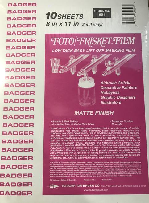 Badger Foto/Frisket film Matte finish