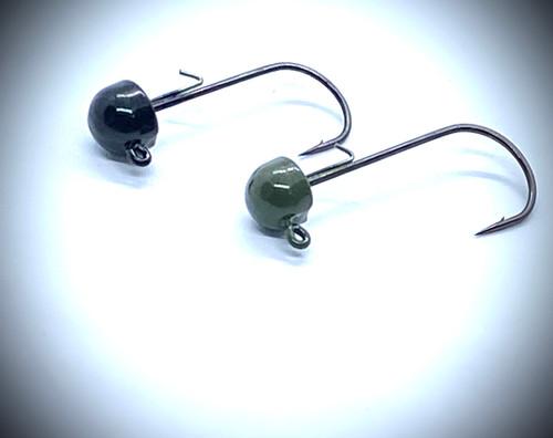 Tungsten Ned head jigs 2pk