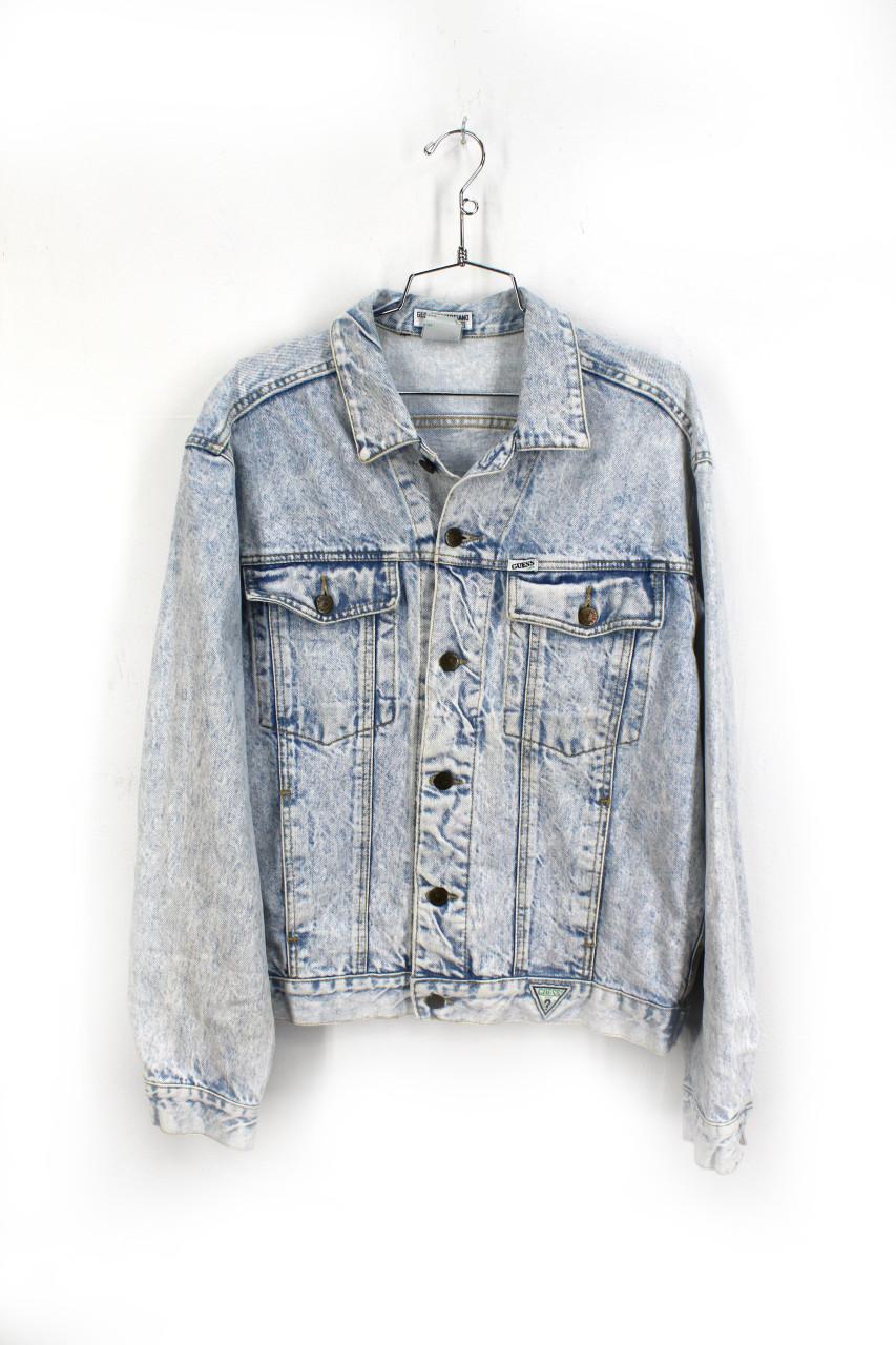 Vintage Blue GUESS Denim Jeans USA Size 38