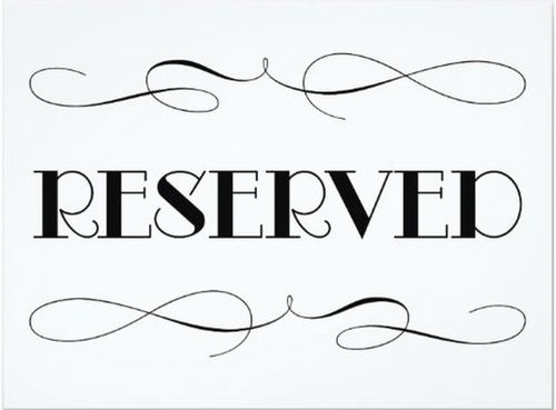 $27 Reserve Listing