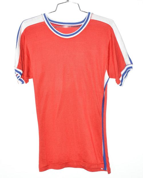Athletic Striped Ringer Tee