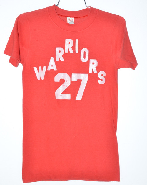 Made in USA Warriors Single Stitch Poly Blend Tee