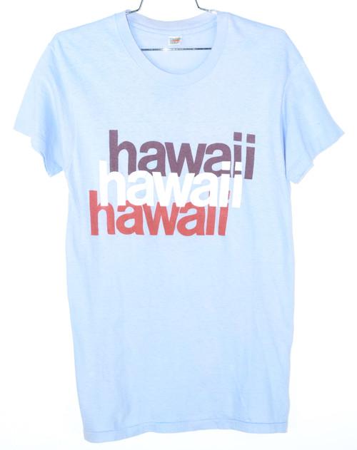 Made in USA Hawaii Single Stitch Graphic Tee