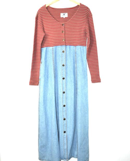 Rafaella Jeans Denim Sweater Dress