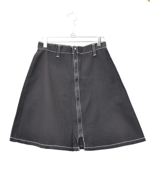 Fashion Plate Denim Rave Skirt - Black