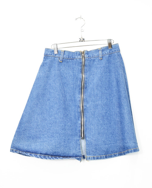 Fashion Plate Denim Rave Skirt-28""
