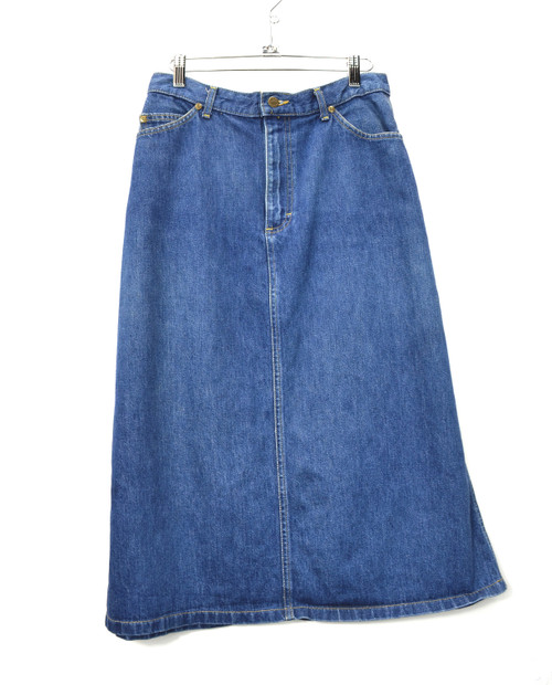 Lee Riders Denim Midi Skirt