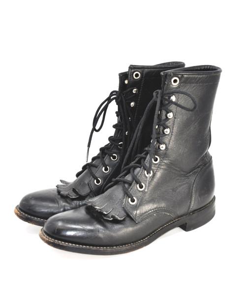 Justin Black Roper Boots